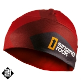 Čepice Singing Rock Čepice BEANIE RED HOT