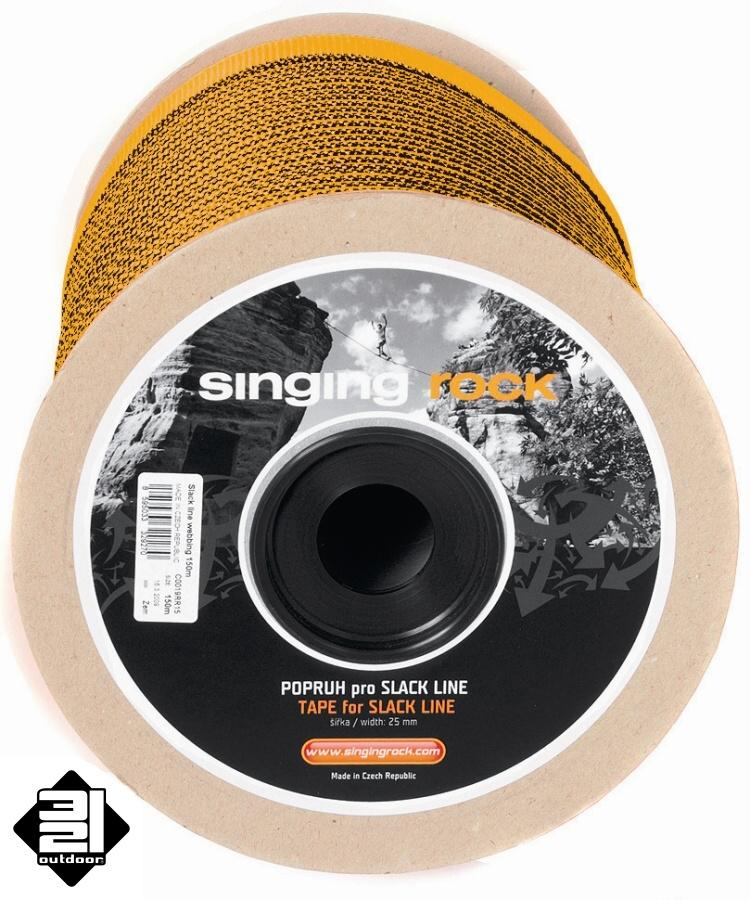 Singing Rock Slackline popruh 50 m (Slackline Tape)