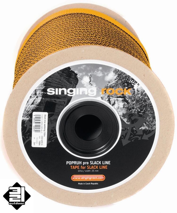 Singing Rock Slackline popruh 100 m (Slackline Tape)