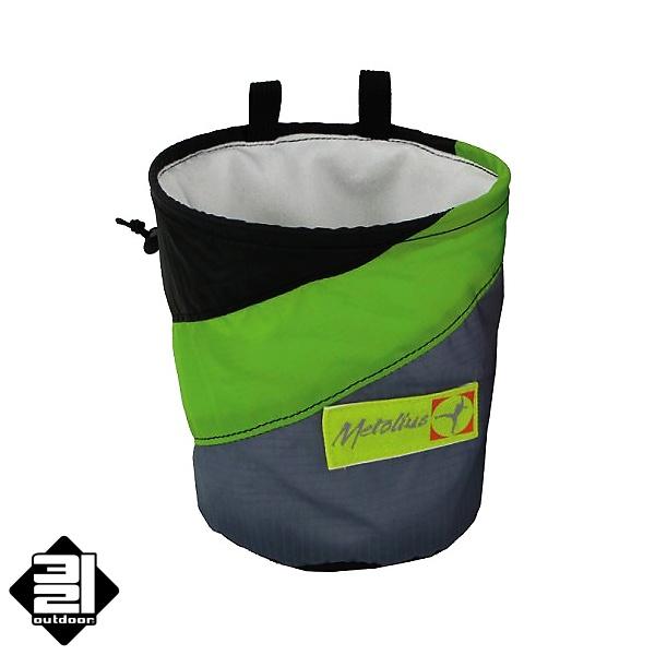 Metolius PYTLÍK NA Mg - Ultralight zelený (Magnesium Chalk Pod - Ultralight Green)