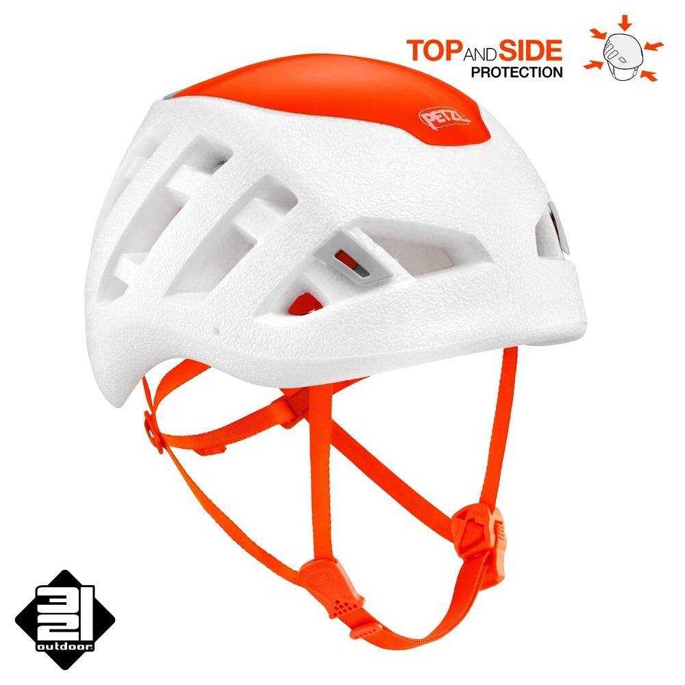 Horolezecká helma Petzl SIROCCO bílá