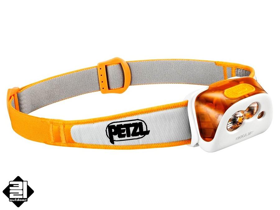 Čelovka Petzl TIKKA XP (Headlamp Petzl Tikka XP)