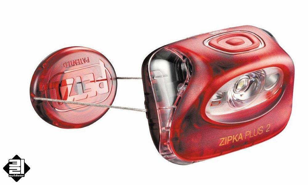 Čelová svítilna Petzl ZIPKA 2 PLUS (Headlamp Petzl Zipka 2 Plus)