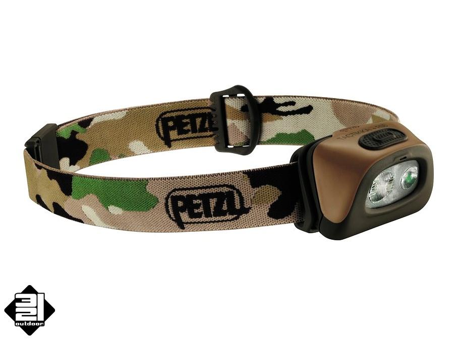 Čelovka Petzl TACTIKKA + RGB (Headlamp Petzl Tactikka Plus RGB)