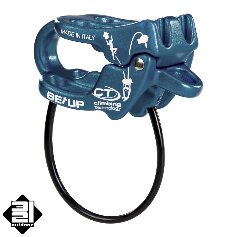 Climbing Technology BE UP modrá (CT Be-Up Belay Device Blue)