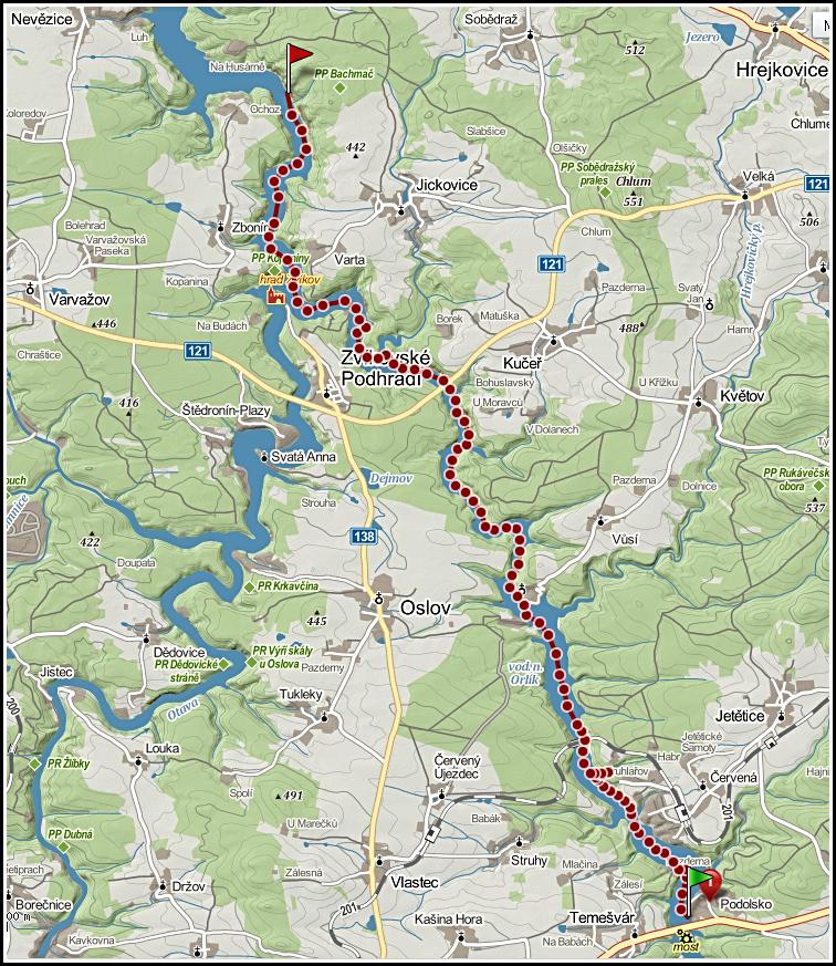 Trasa Orlík